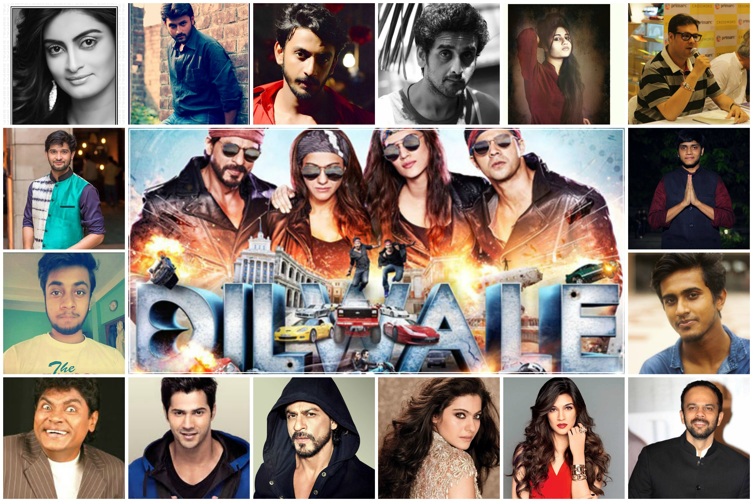 T- Town Actors cheers for DILWALE, students say BOO to it.