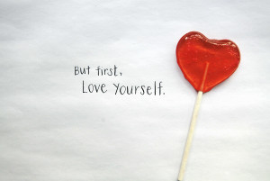 new year, learn to love yourself
