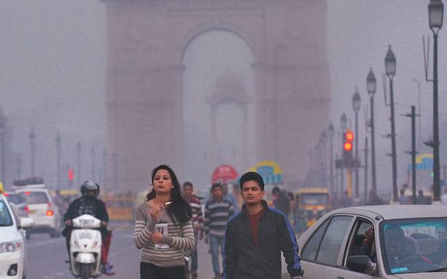 Photo of Delhi air just got worse, healthy can also fall sick