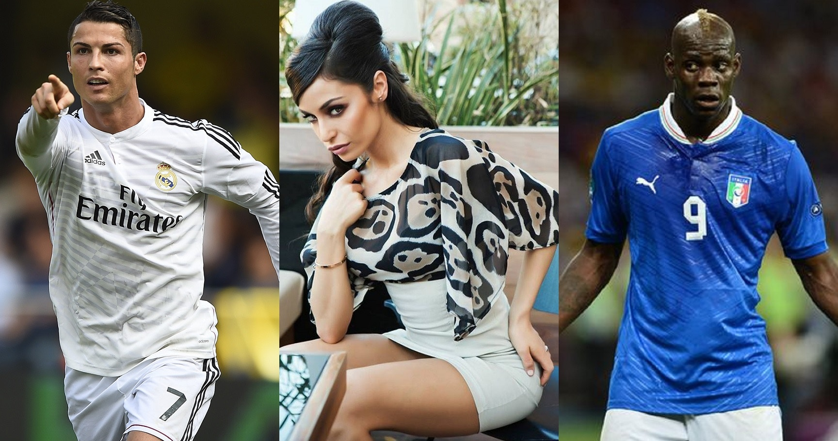 Photo of From 'Ronaldo to Balotelli' Top 10 footballers who dated same women