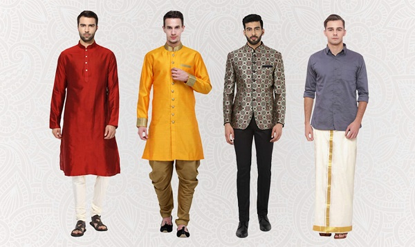 Traditional Looks for Boys this Puja