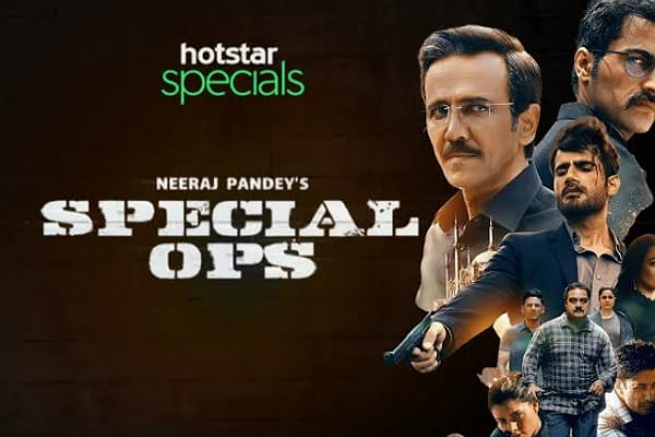 Special Ops: A breathtaking suspense thriller web series!
